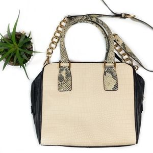 • marc fisher • kyra bag in nude snake